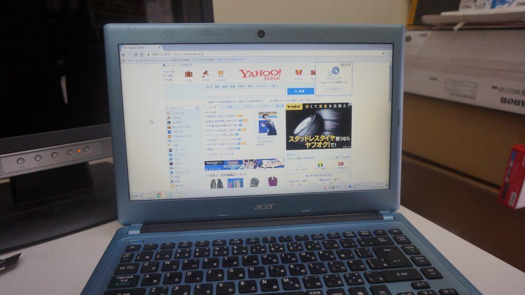 画面が赤い 液晶交換 Acer Aspire V5-431-H82CB 6