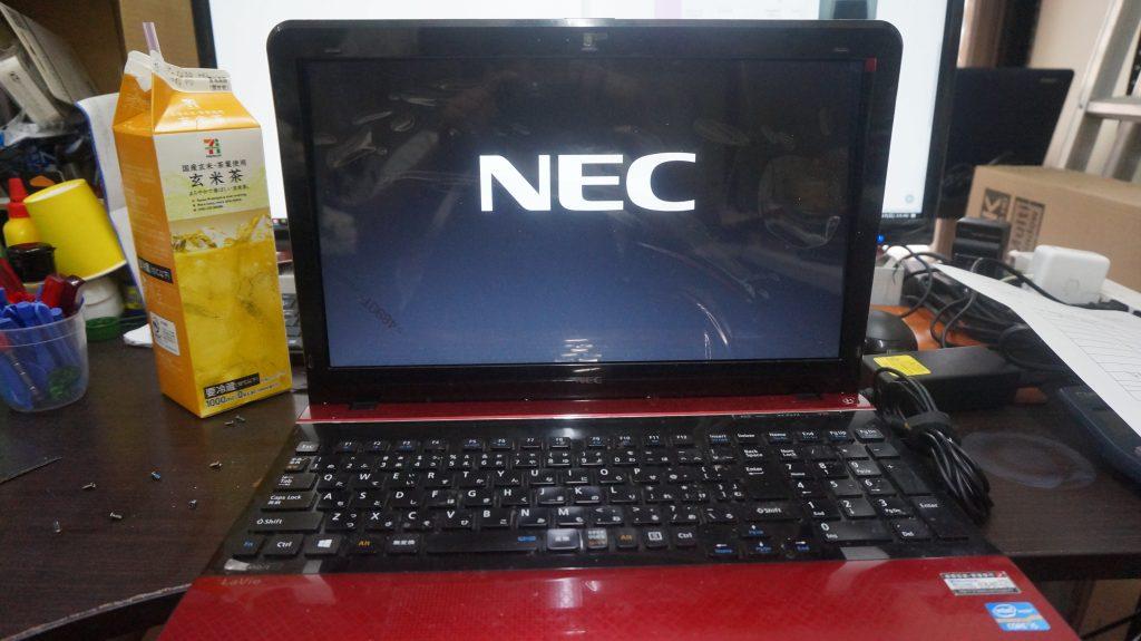ノートパソコン液晶割れ即日交換 NEC LS450/J 4