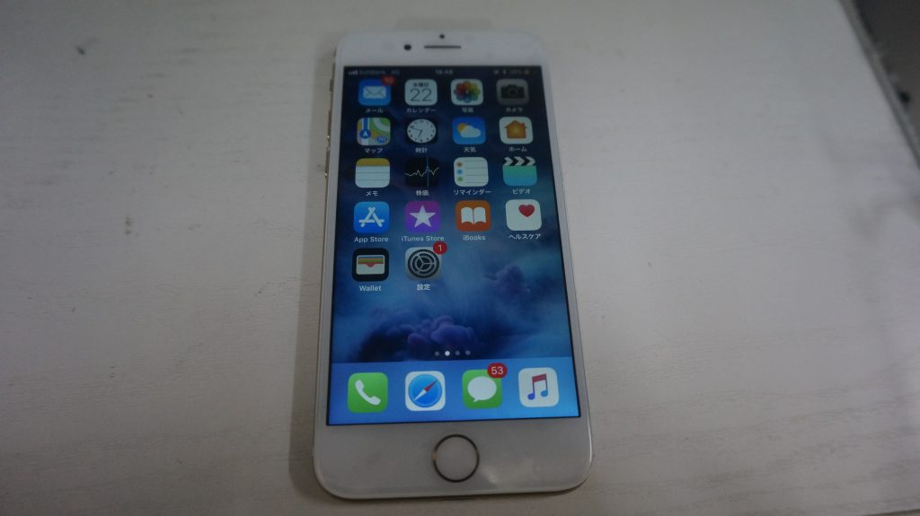 画面液晶割れにより交換 iPhone7 6