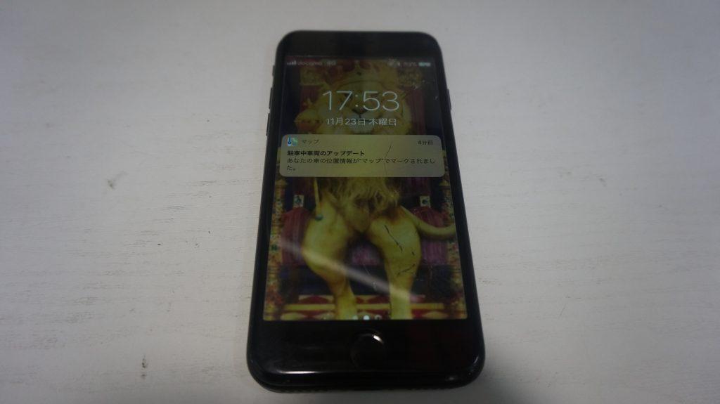 ガラス交換液晶交換が安い iPhone7 1