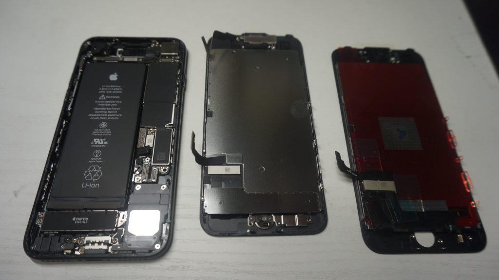 ガラス交換液晶交換が安い iPhone7 5