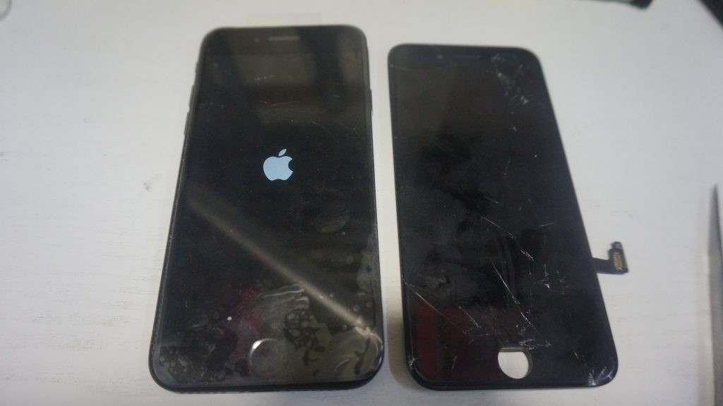 ガラス交換液晶交換が安い iPhone7 6