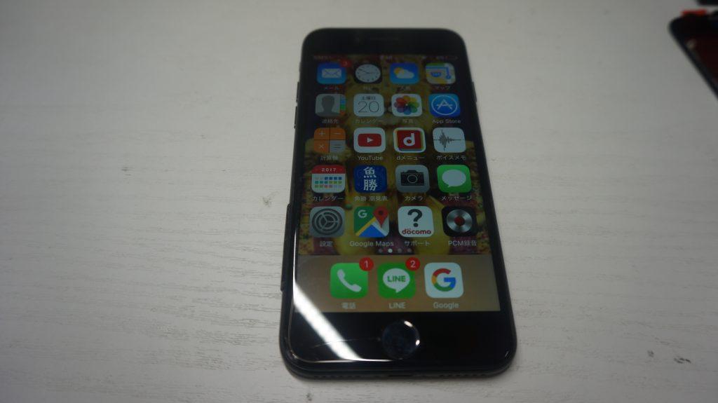 ひび割れにより液晶交換 iPhone7 1