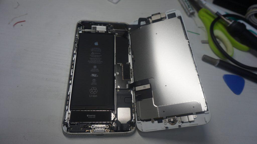 ガラス液晶割れ交換安い iPhone7 2