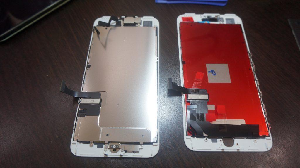 ガラス液晶割れ交換安い iPhone7 3