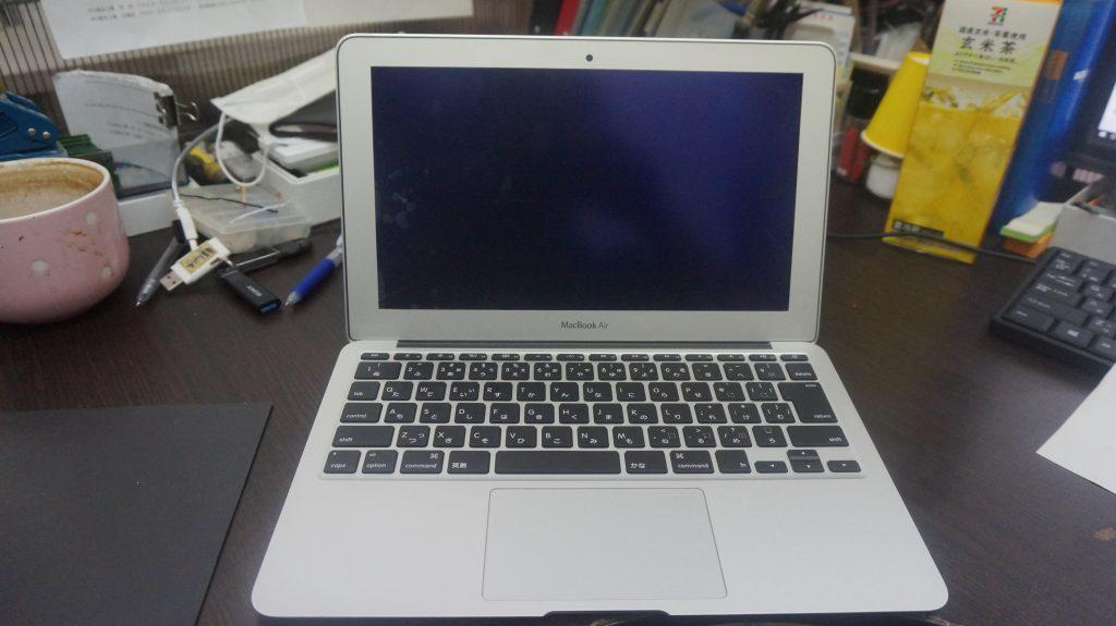 ワインで水没 水没修理バッテリー交換 Macbook Air A1465 1