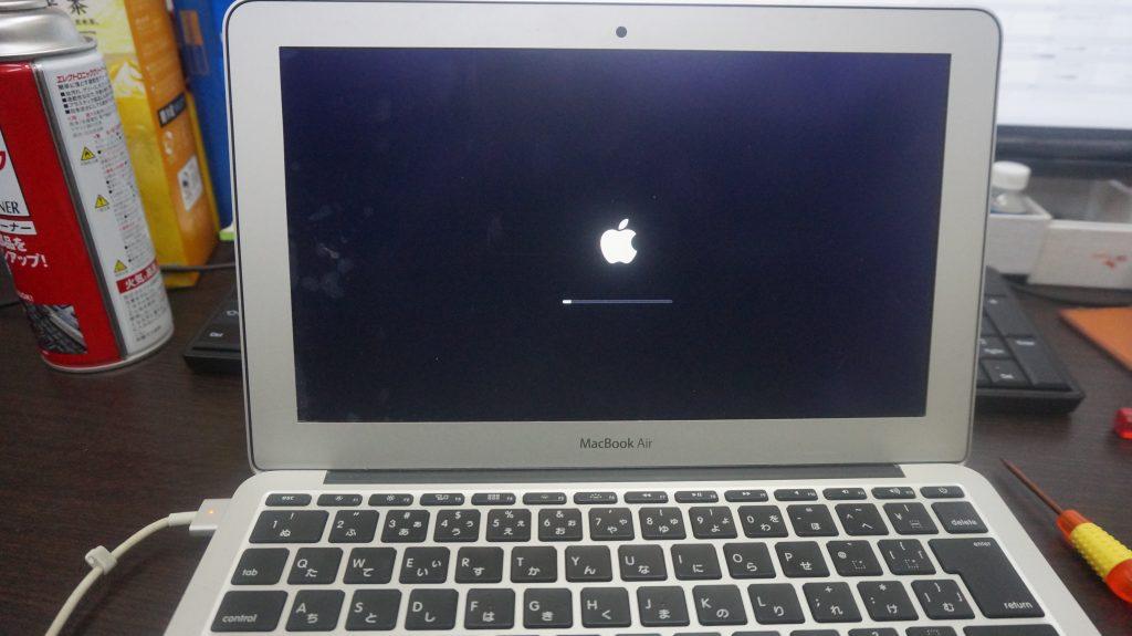 ワインで水没 水没修理バッテリー交換 Macbook Air A1465 6