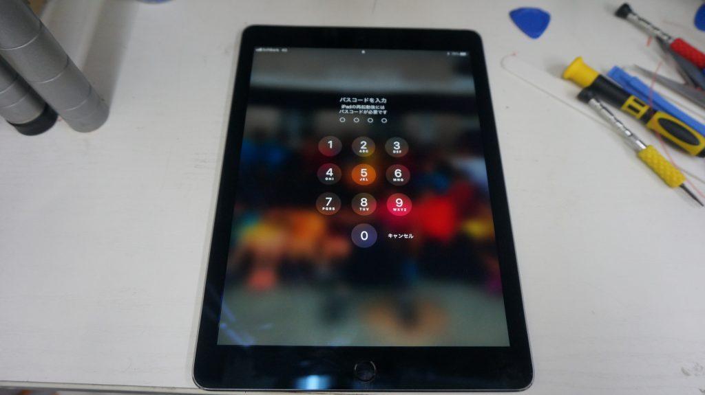 バッテリー劣化によりバッテリー交換 iPad mini2 8