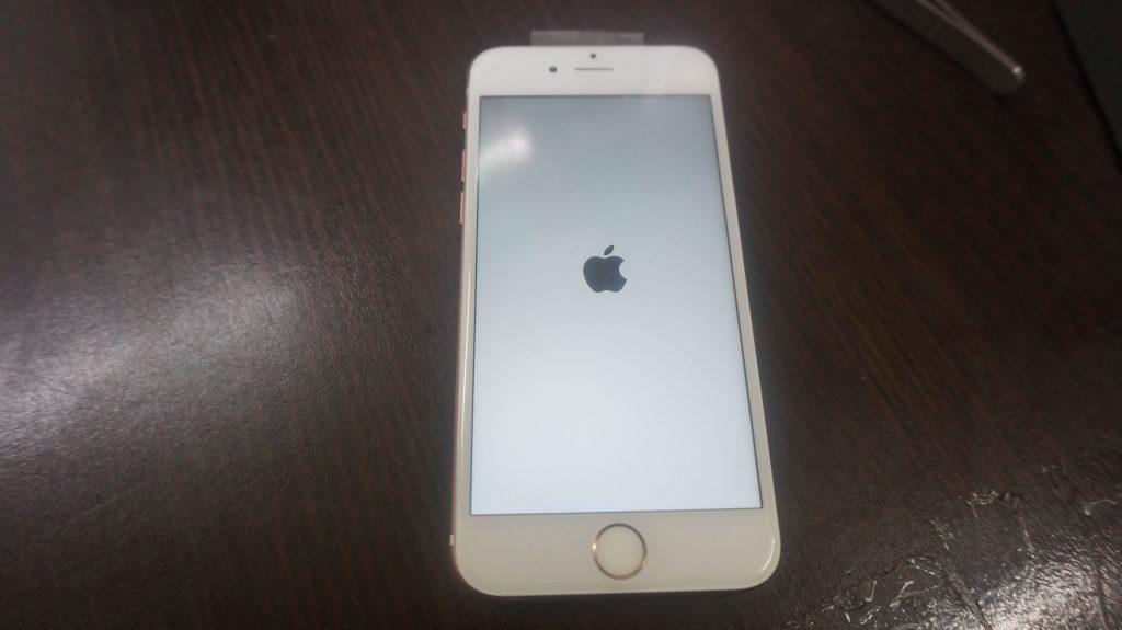 上部ベゼル液晶割れ交換 iPhone6s 5