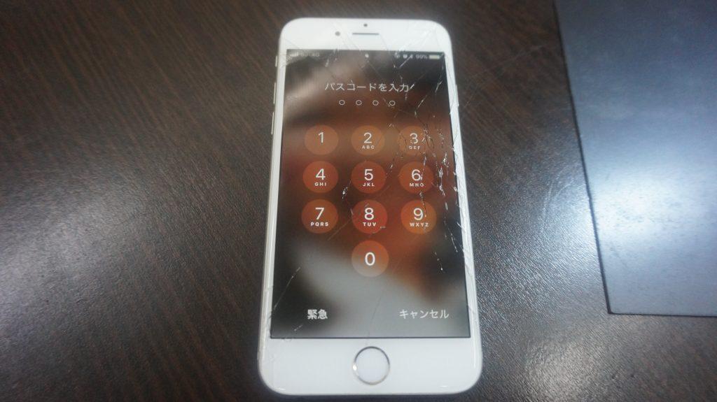 液晶とバッテリー交換 iPhone6 1