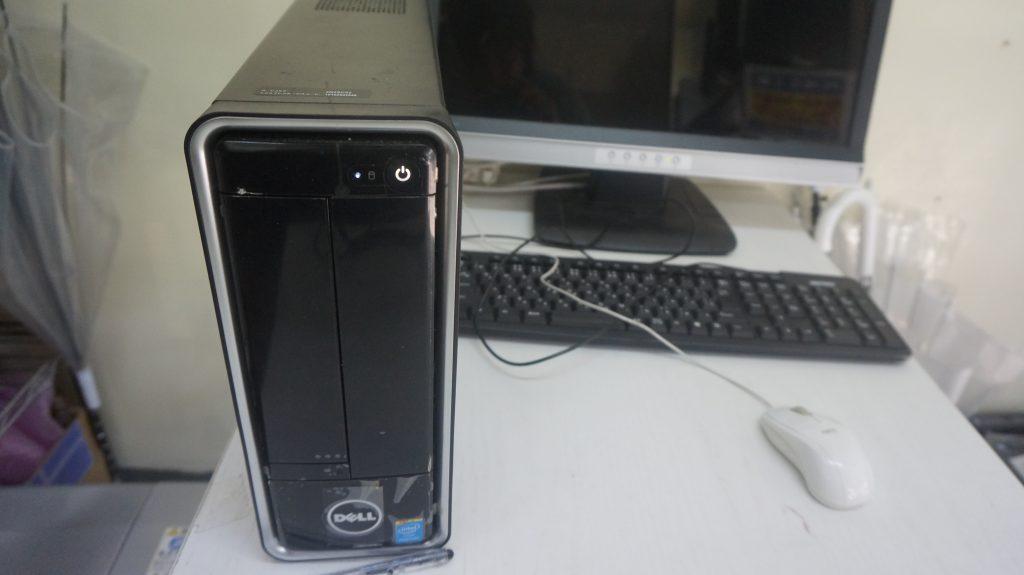 HDDセクタ不良によりSSD換装 DELL Inspiron 3647 1