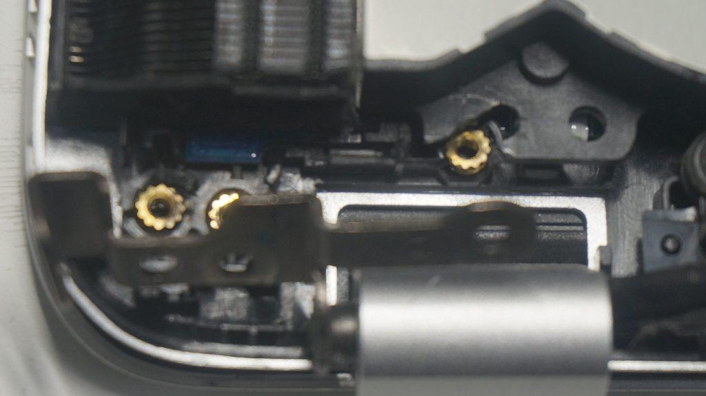 ヒンジ壊れ割れ修理 HP Envy 2