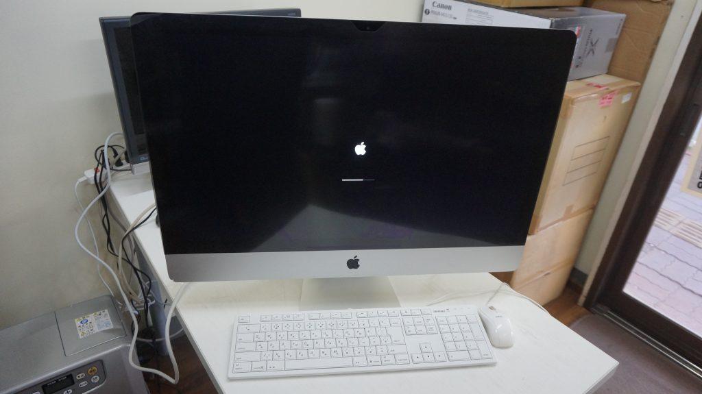 HDD不調のためSSD換装 iMac 27 A1419 5K fusion drive 1
