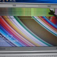 液晶割れ交換 Panasionic Let's Note CF-SX4 2