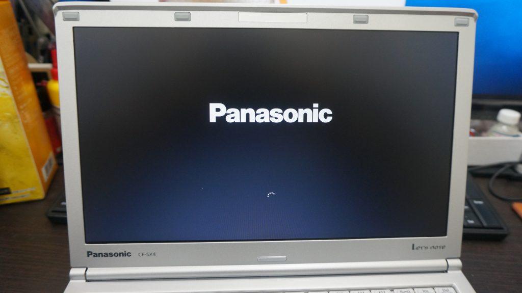 液晶割れ交換 Panasionic Let's Note CF-SX4 7