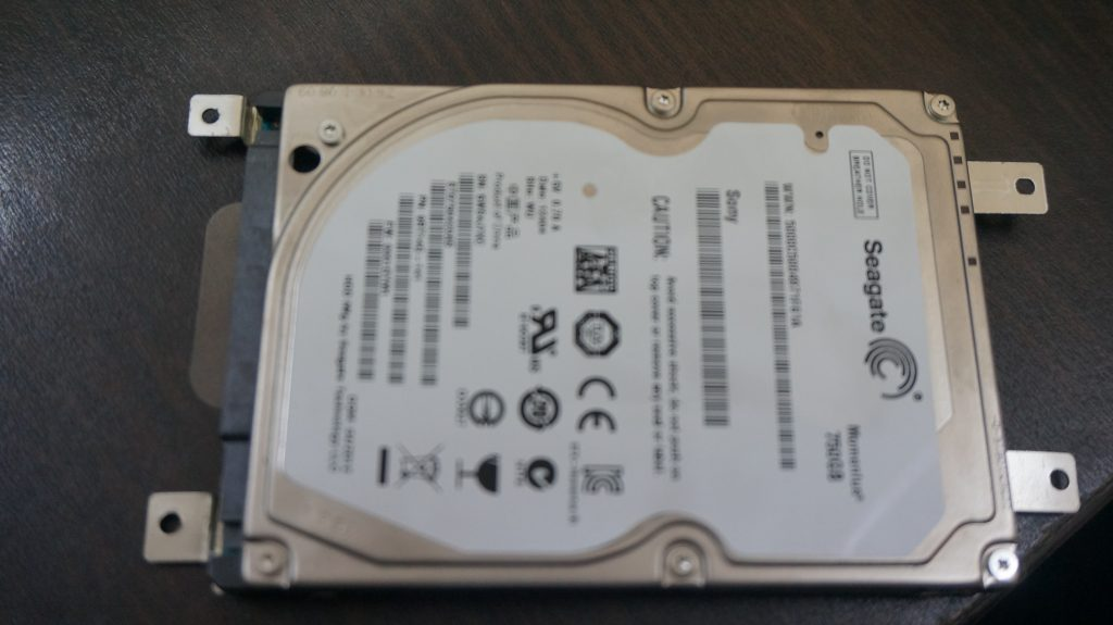 Operating System Not Found SSD換装 VAIO E 3