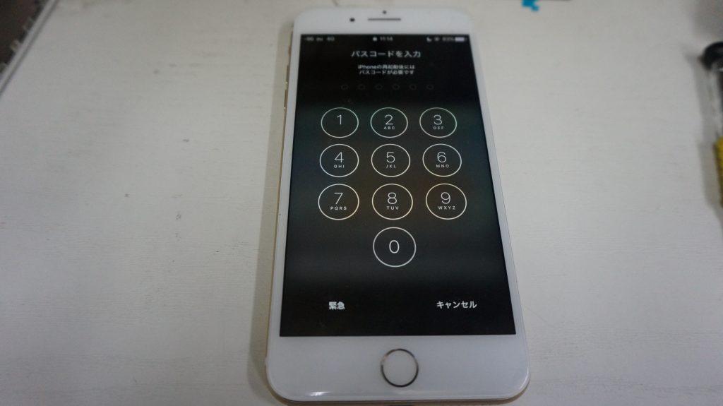 ガラス割れ液晶割れにつき交換 iPhone 7 Plus 6