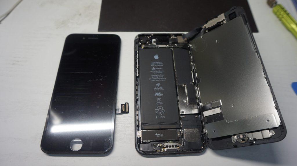 ガラス割れ液晶割れ交換します iPhone7 4