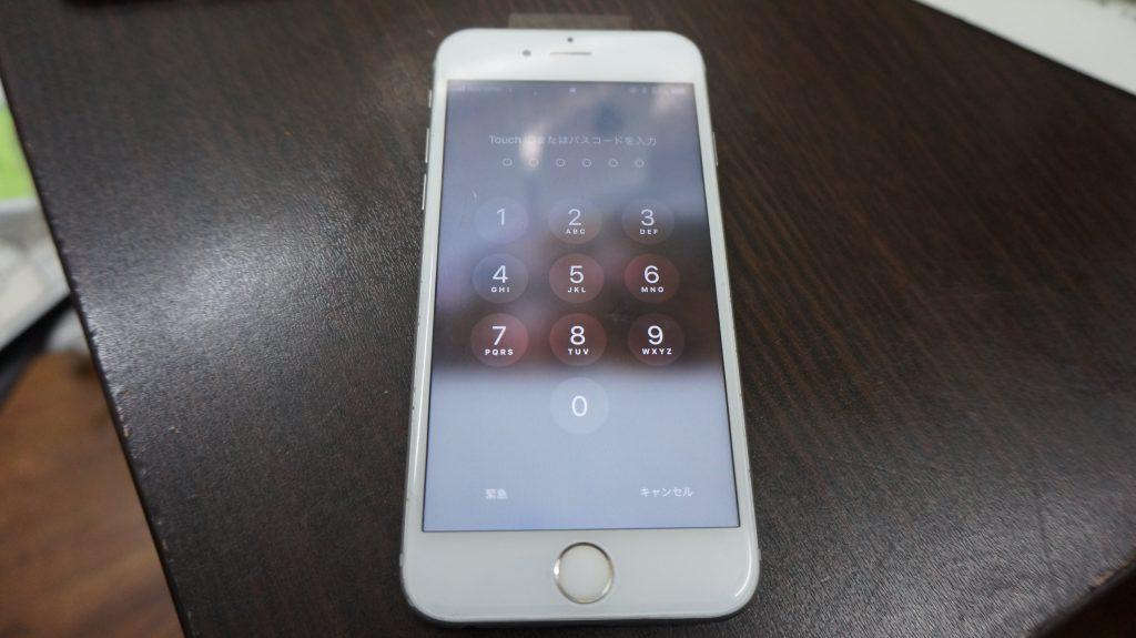 画面割れ交換修理 30分で直します iPhone6s 7