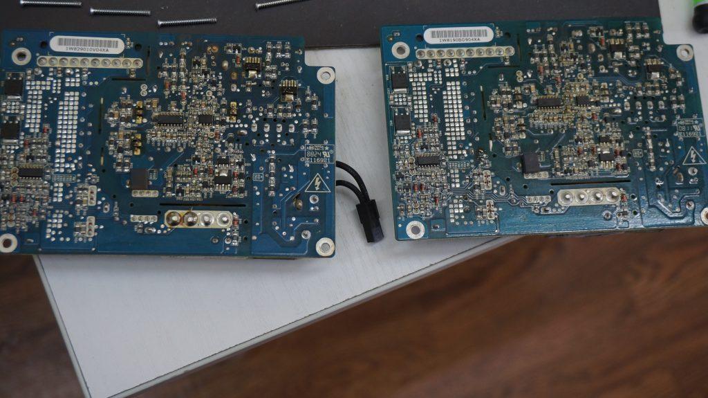 電源が入らない 電源交換 iMac A1224 7