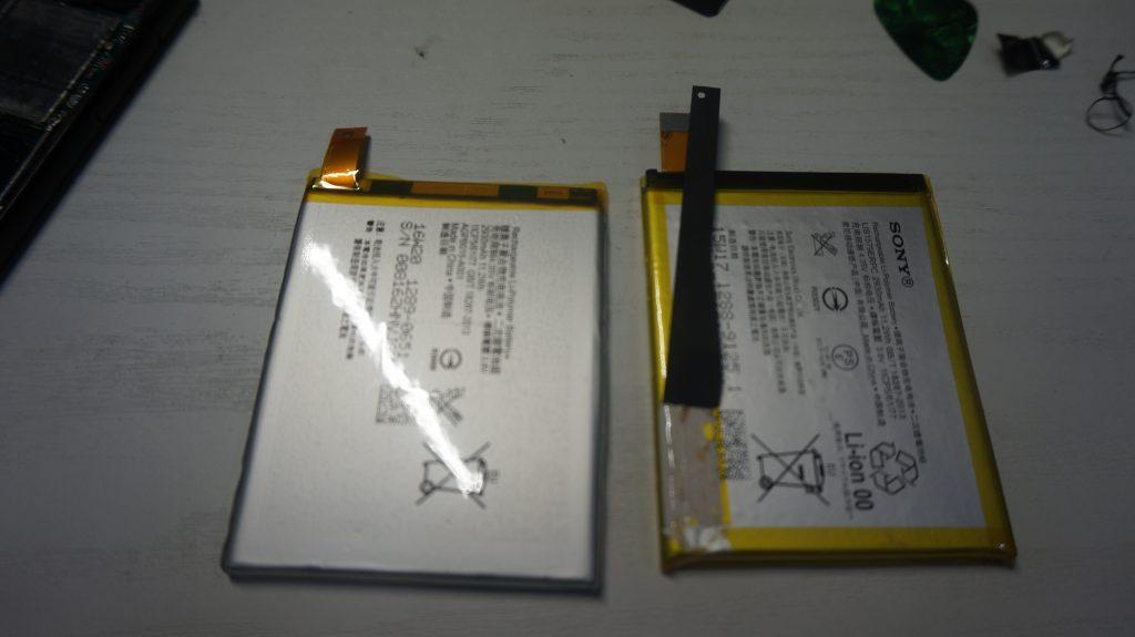 充電がすぐなくなる バッテリー交換 Xperia Z4 SO-03G 5