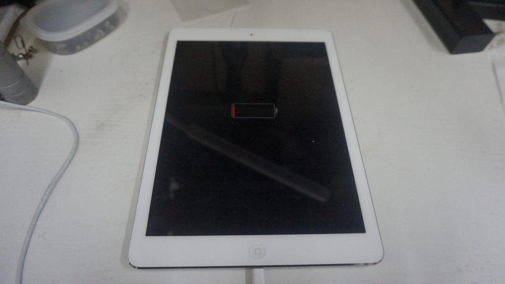 充電がすぐなくなる バッテリー交換 iPad Air 1