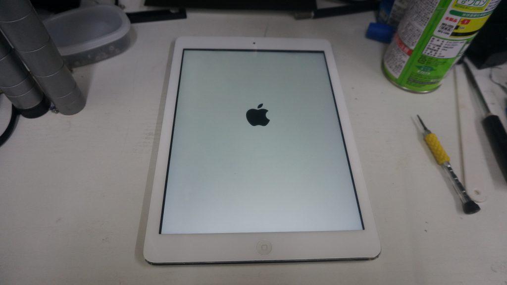 充電がすぐなくなる バッテリー交換 iPad Air 9