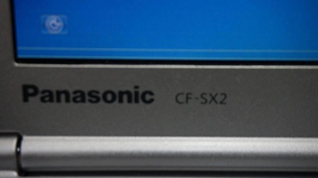 液晶割れ交換 Panasonic Let's Note CF-SX2 2