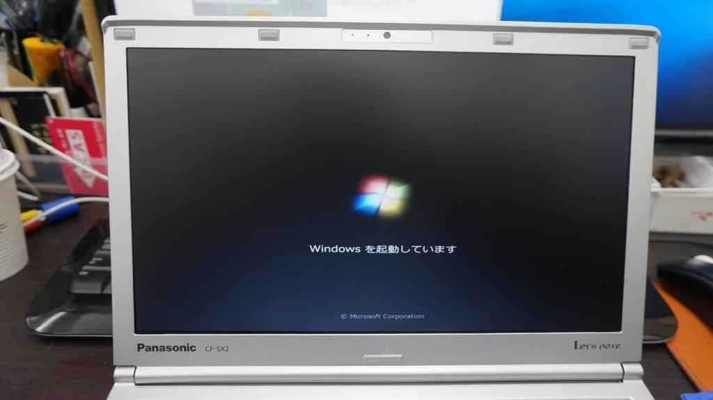 液晶割れ交換 Panasonic Let's Note CF-SX2 6