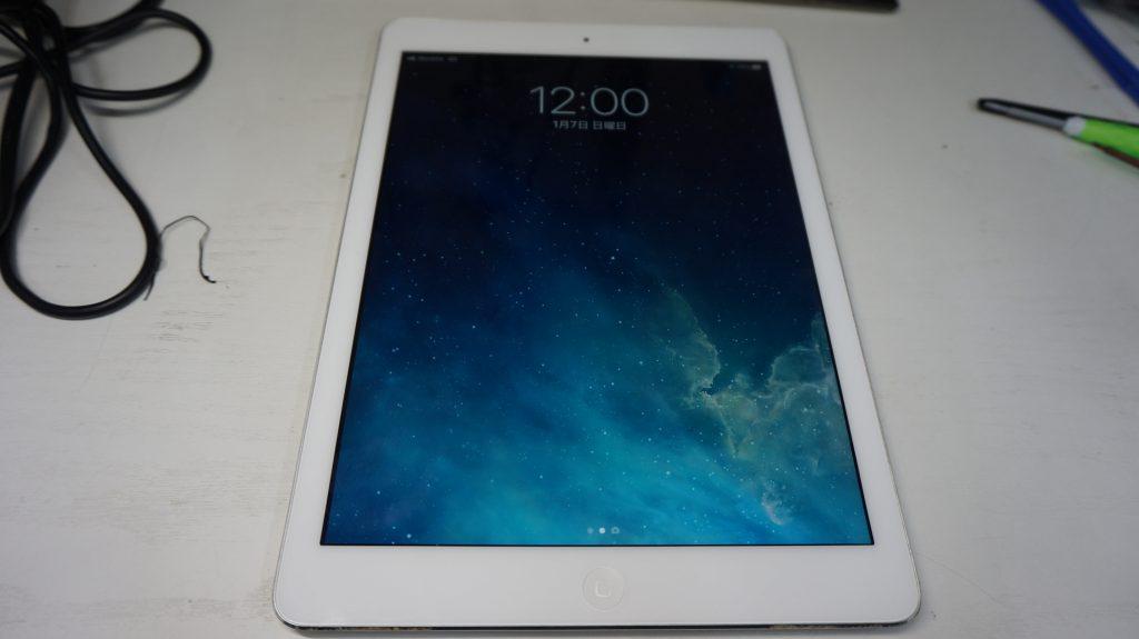 バッテリー劣化によりバッテリー交換 iPad Air 1