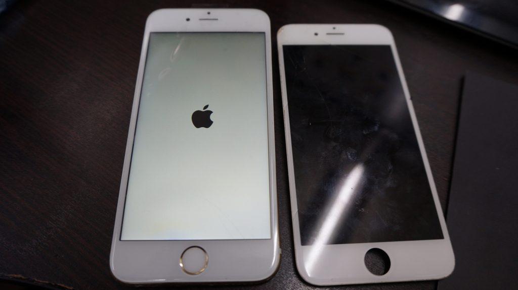 ガラスにヒビ 液晶交換 iPhone6s 6