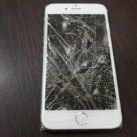 バリバリに割れた液晶交換 iPhon6s 2