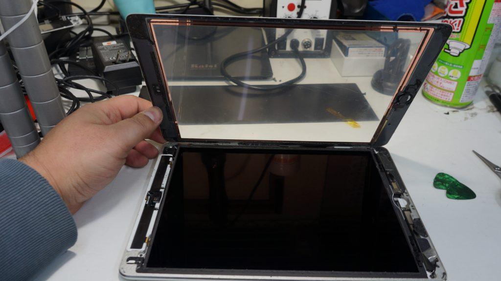 バッテリーの減りが速いのでバッテリー交換 iPad Air 3