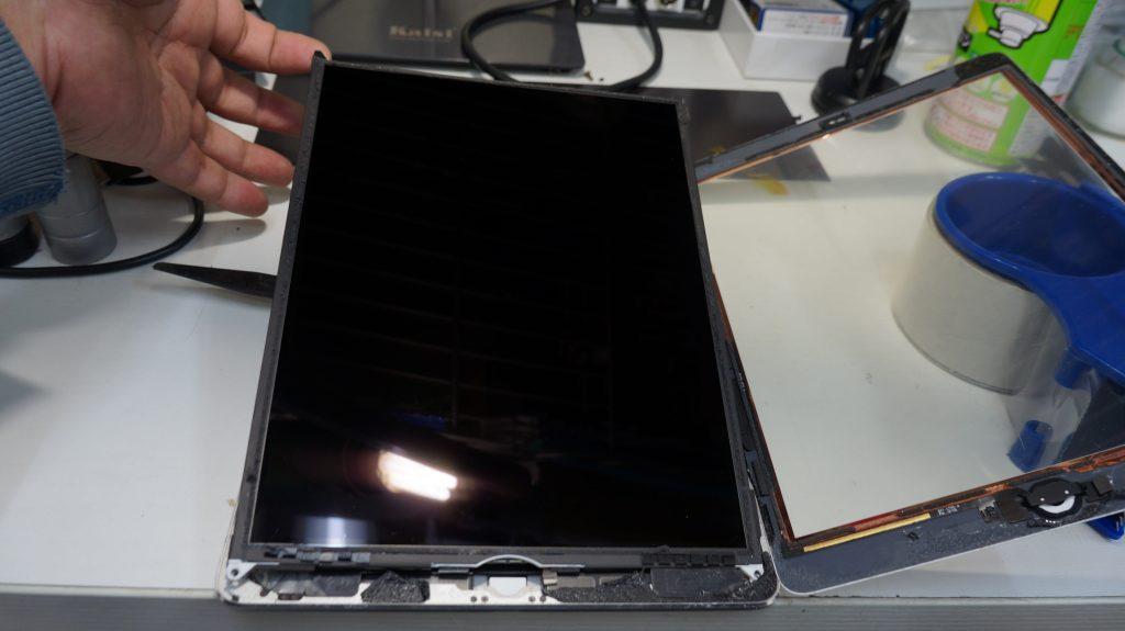 バッテリーの減りが速いのでバッテリー交換 iPad Air 4
