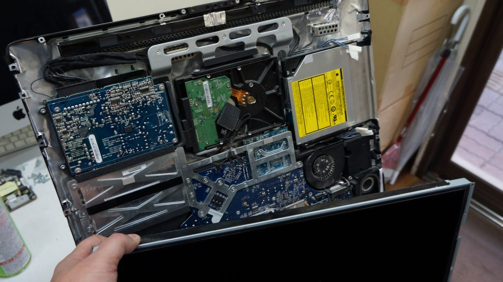 起動しないiMacのHDDからデータ復旧 iMac A1224 5