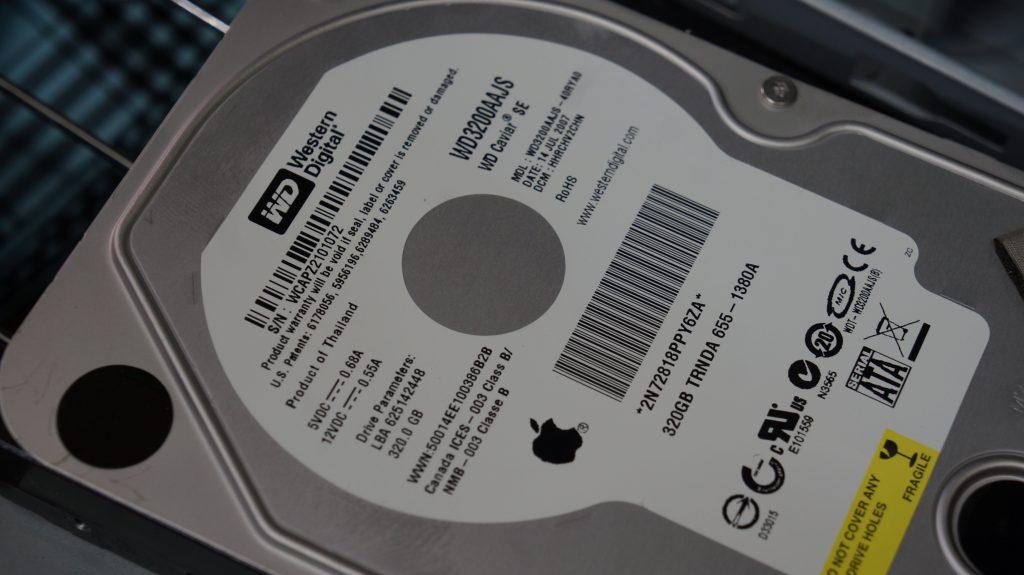 起動しないiMacのHDDからデータ復旧 iMac A1224 7
