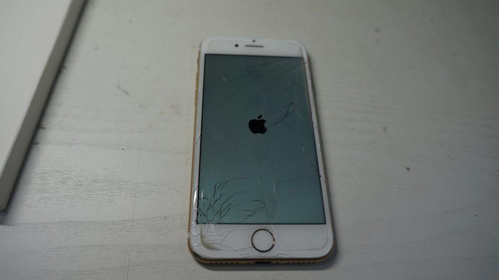 液晶割れ画面割れ30分で即交換 iPhone7 1