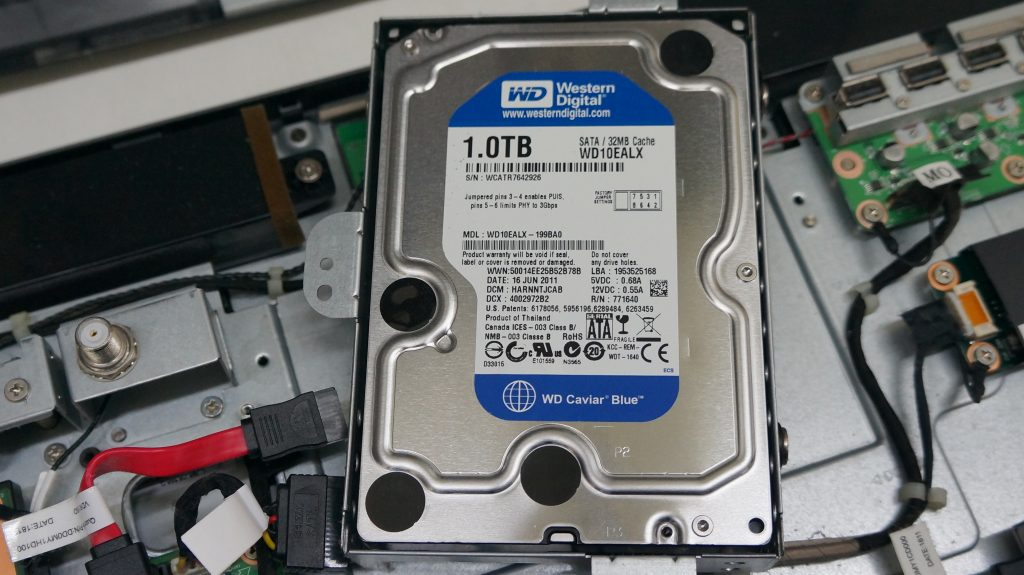 HDDセクタ不良により交換&データ復旧 NEC VALUESTAR VN370/E 3