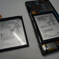 バッテリー劣化で交換修理 SONY Xperia Z5 4