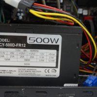 電源が入らない 起動しない 電源交換 自作PC 3