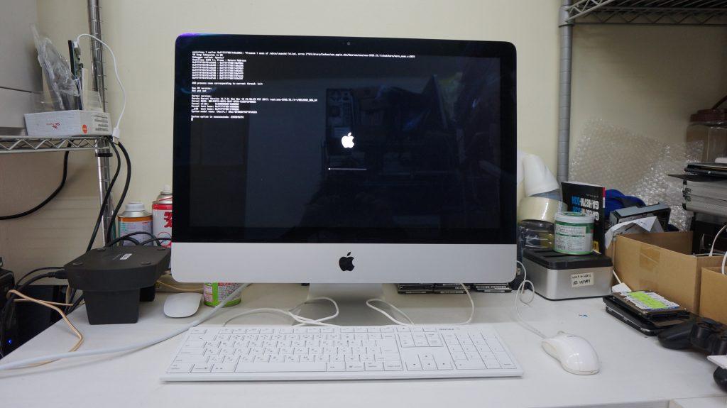 カーネルパニック HDD交換再インストール iMac 27 A1419 1