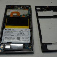 バッテリー劣化により交換 Xperia Z1 docomo 3