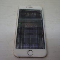 液晶に線 画面が震える 液晶パネル交換 iPhone6 1