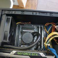すぐに電源が落ちる 水冷ユニット交換 mouse computer G-Tune 2
