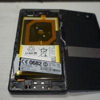 液晶割れにより交換 液晶パネル交換 Xperia Z3 Compact 3