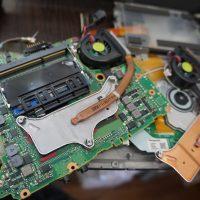 電源は入るが数十秒で落ちる マザーボード交換 Panasonic CF-S9 4