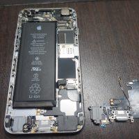 電源を認識しない充電できない ドックコネクタ交換 iPhone6 3