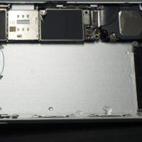 軽い水没 バッテリー交換 iPhone6 4