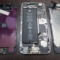 液晶に縦線が出る 液晶パネル交換 iPhone6 2