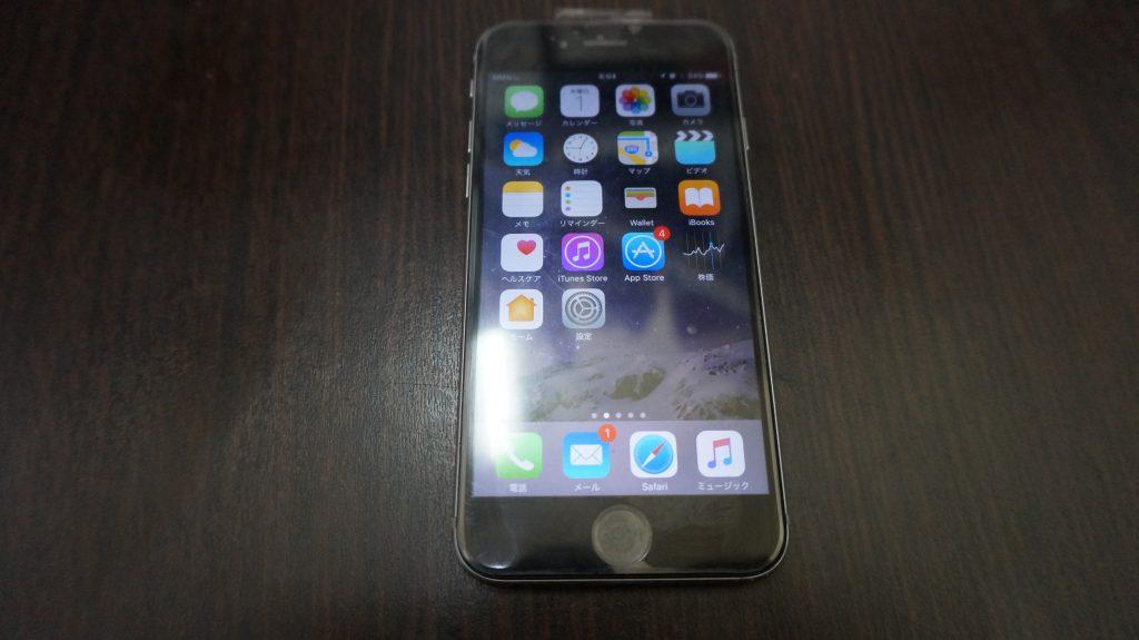 液晶に縦線が出る 液晶パネル交換 iPhone6 5